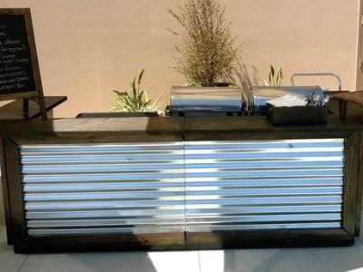 Billotti's Catering Pasta Bar setup